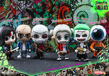 SUICIDE SQUAD Collection Set 1 - Cosbaby Hot Toys UK SHIP IN STOCK harley quinn