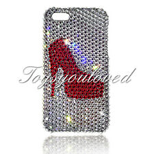 Shoe Crystal BLING BACK CASE FOR IPHONE 7 plus 5.5 Made w/ SWAROVSKI ELEMENT