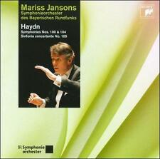 Haydn: Symphonies Nos. 100 & 104 / Sinfonia Concertante, , Good Import