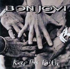 BON JOVI  / KEEP THE FAITH / CD - MIT VIDEO KEEP THE FAITH (LIVE) / NEUWERTIG
