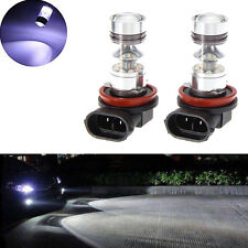 2PCS H11 LED High Power 12-24V Fog Light Indicator Daytime Running Bulb Globe