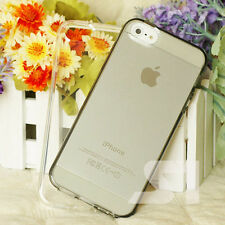 CLEAR TRANSPARENT SILICON GEL SLIM TPU CASE COVER SKIN FOR APPLE IPHONE 5C