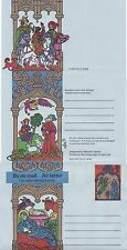 GB Stamps Aerogram / Air Letter APS32 - 10 1/2p Nativity, Angels Christmas 1975
