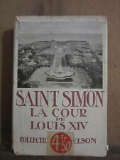Duc de Saint-Simon/ La Cour de Louis XIV/ introduction par Charles Sarolea
