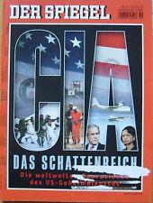 SPIEGEL 50/2005 Der amerikanische Geheimdienst CIA
