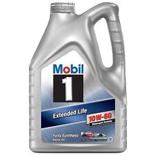 Mobil 1 Extended Life 10W-60 Synthetic Engine Oil 5 Litre