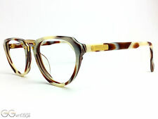 ENRICO COVERI 119 horn optic Woman Glasses Retro Vintage Frame unworn NOS Panto