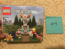 NEW LEGO City CREATOR Park Fountain (40221) Rare FREE SHIPPING