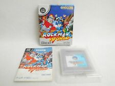 ROCKMAN WORLD 1 Megaman Item Ref/2969 Game Boy Nintendo Japan Boxed Game gb