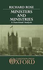 Ministers and Ministries: A Functional Analysis-ExLibrary