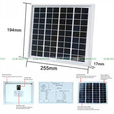 New 5W Watt 12V Poly Solar Module  Solar Panel For Battery Charger Camping