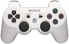 Official Sony PS3 PlayStation 3 Wireless Dualshock 3 Controller White OEM UDAC