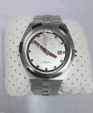 Fossil Watch Superman Urban Red LL1036 Limited Edition Very Rare!!! Hard to find