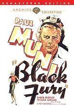 BLACK FURY - (RMST B&W) Region Free DVD - Sealed