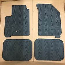 2009-2017 Dodge Journey Black Slush All Weather Rubber Floor Mats Set MOPAR OEM