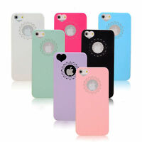 NEW Lace Heart Slim Thin Vintage Cute Hardback Case Cover For iPhone 6 5S 5 4S 4