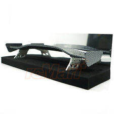 Slidelogy Shiny Carbon Pattern Spoiler Black Stands Type E 1:10 RC Car #SDY-0053