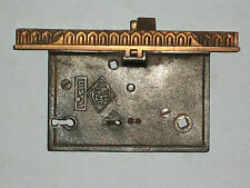 """Antique Eastlake Entry Door Lock By R&E Co. Late 1800's 7 7/16"""" x  1 1/4"""""""