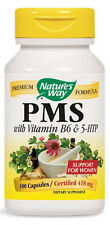 PMS with Vitamin B6 & 5-HTP - 100 Capsules - Nature's Way