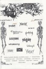 Old Temple #3, riviste (bustum, Repossession, death metal, black metal)