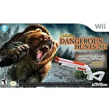 BRAND NEW  Cabela's Dangerous Hunts 2013 with Gun for Nintendo Wii