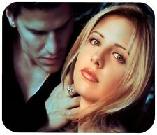 "BUFFY AND ANGEL MOUSE PAD 1/4"" NOVELTY MOUSEPAD"