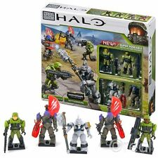 New Halo Anniversary Collection Battleground Figure Pack Mega Bloks Official