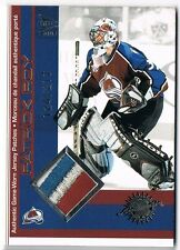 2001-02 McDONALD'S PACIFIC JERSEY PATCHES PATCH SILVER PATRICK ROY /217 !! 4 COL