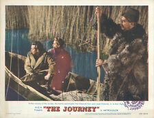 The Journey original 1959 11x14 lobby card Deborah Kerr Jason Robards in canoe