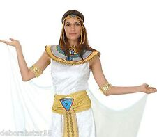 """Cleopatra Queen of the Nile Egyptian Fancy Dress Costume 10 12 14 Up to 38"""" Bust"""