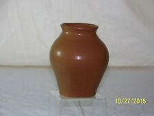 Vintage Van Briggle American Art Pottery Brown Glazed Vase