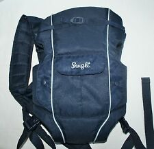 blue Snugli  Soft Carrier For Infant or Baby 7-26 pounds vented with pocket