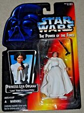 STAR WARS DISNEY POWER OF THE FORCE POTF PRINCESS LEIA ORGANA CARRIE FISHER MOSC