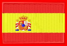 Flag Spain  Bandera de España Parche bordado Thermo-Adhesivo iron-on patch