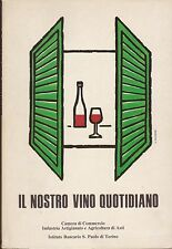 G277_IL NOSTRO VINO QUOTIDIANO, AA.VV. - CAMERA DI COMMERCIO 1981