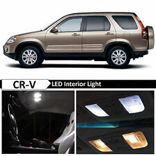6x White Interior LED Lights Package for 2002-2006 Honda CR-V CRV