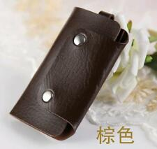NEW1PCS Free shipping PU leather car key ring keychain ring gift bags  A008