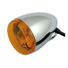 Chrome Bullet style indicator fits all Harley-Davidson Pre 2001
