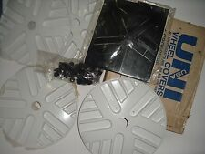old school NOS Uni Crossfire Trans am wheel covers 20 inch bmx freestyle bike