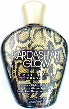 Kardashian Glow Special Event Dark Silicone Bronzer Indoor Tanning Bed Lotion