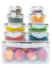 Fullstar Food Storage Containers Set with Smart Lock Lids (18-Pieces Set / 9...