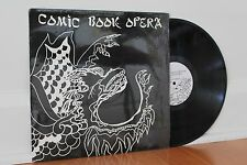 COMIC BOOK OPERA Self-Titled LP (Insight, 1988) Acid Jazz No Wave Experimental