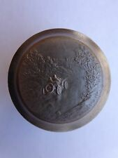 Extremely Rare 1910s Bugatti Casting Mold Russian French Medalist Félix Rasumny!