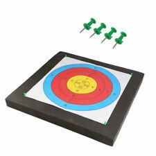 10 X Pro Archery Target Faces Suitable For Bows /& Crossbows Heavy Gauge UK NEWS
