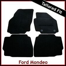 Ford Mondeo Mk4 2007-2014 Fully Tailored Fitted Carpet Car Mats BLACK