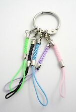 Flash Drive Cell Phone Cords/Binder Ring 1 in. Mixed Materials Multi-Color New