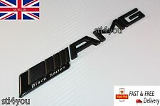 AMG Boot Trunk Badge Emblem Sticker Black Matte Black Series CLK SLK CLK C SL