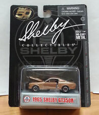 1965 65' Shelby Collectibles Ford Mustang Shelby GT-350R Gold  Black LTD Diecast