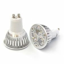 High Power 9W Gu10 Warm White Dimmable LED 120 degree spot lights lamp bulb @rg