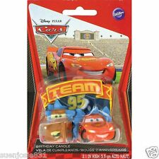 Disney Cars Mater McQueen Candle 1ct Cake Cupcake Decoration Topper